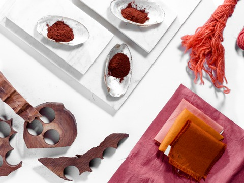 Barn Red Natural Dye