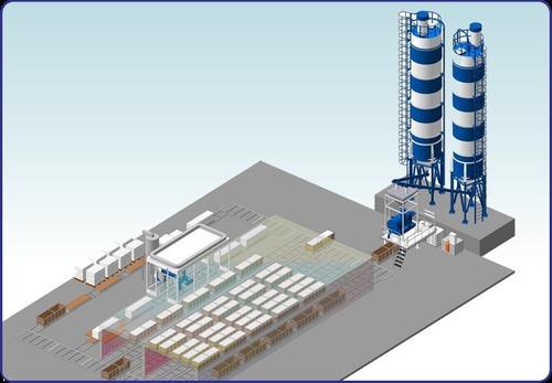 Foam concrete blocks plant in novosibirsk novosibirsk for Foam concrete blocks