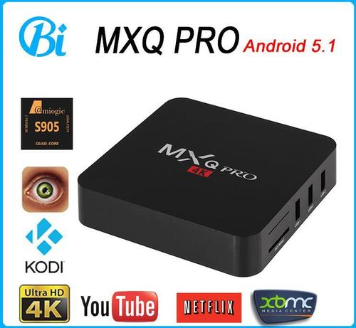 Overbox Mxq Pro Android 6.0 S905x Tv Box Kodi Full Loaded