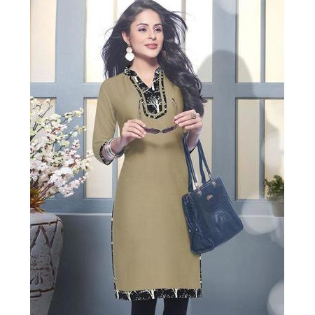 Cotton Satin Kurtis