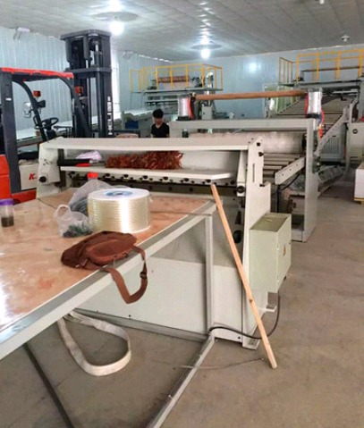 Solid Pvc Plate Sheet Extrusion Production Line