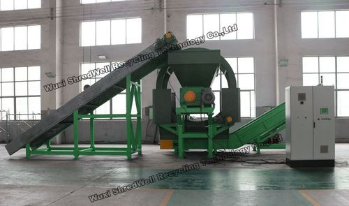 Automatic Tyre Recycle System Big Discount