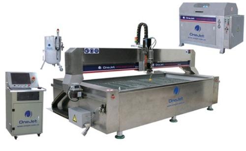 Waterjet Cutting Machine In Marble Cutting
