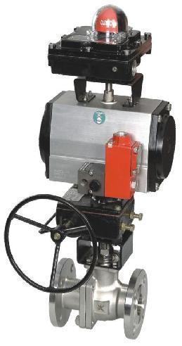 Pneumatic Ball Valve