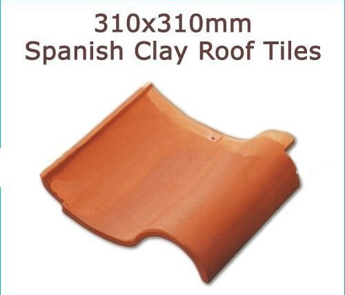 Spanish clay roof tiles in jinjiang fujian china Spanish clay tile