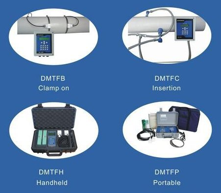 Ultrasonic Non Contact Flow Meters