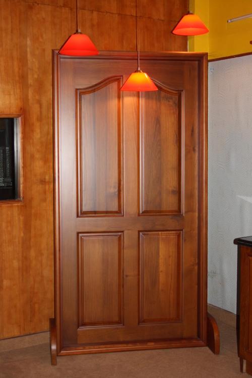 Wooden Door In Kottayam Kerala India Kelachandra