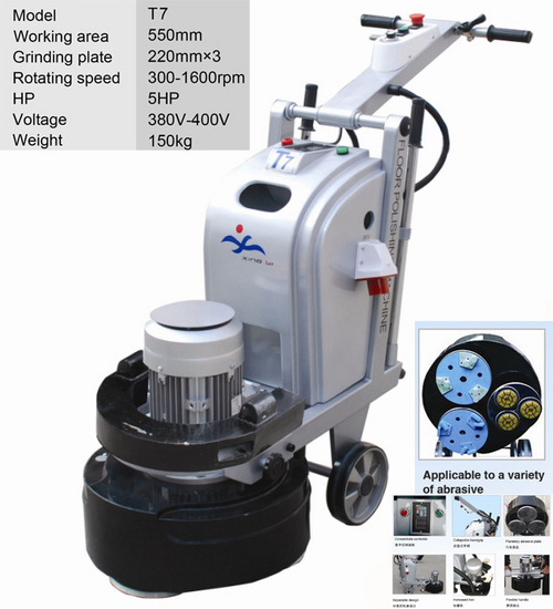 Floor grinding machine t7 in quanzhou fujian china for Floor grinding machine