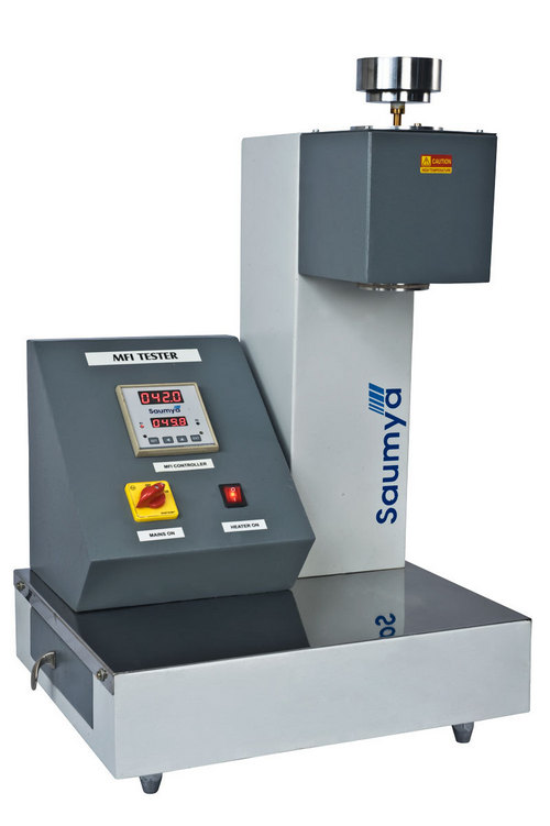 Flow Rate Tester : Fully automatic melt flow index tester in kathwada