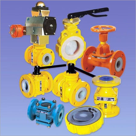 Ptfe Lined Valves & Pipe Fittings