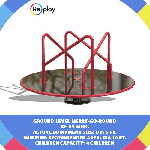Ground Level Merry-Go-Rounds