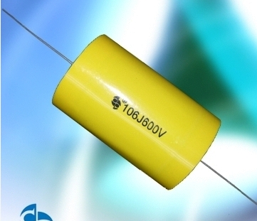 Axial-Type Met Metallized Polyester Film Capacitor Cl20