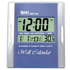 Digital Clock With Date, Month And Temperature Detection
