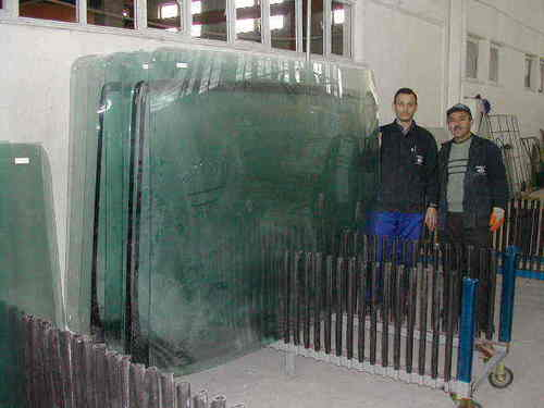 Cool Tempered Glass Furnace