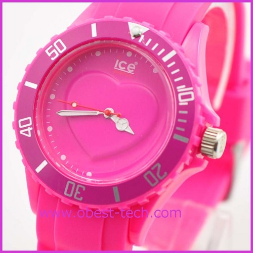 Popular Heart Ice Watch