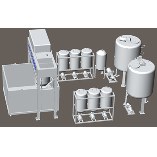 Auto Batch Foaming Machine