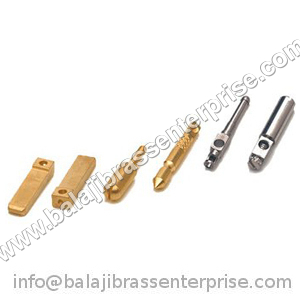 Brass Electrical Plug Pins