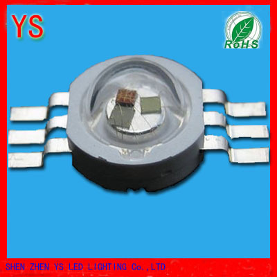 1W RGB LED for Stage Lights