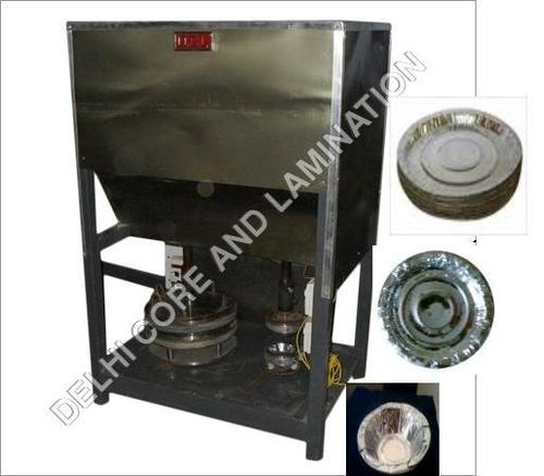 Semi Automatic Paper Plate Double Dye Machine