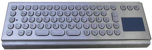 IP65 Vandal Proof Kiosk Keyboard With Touchpad