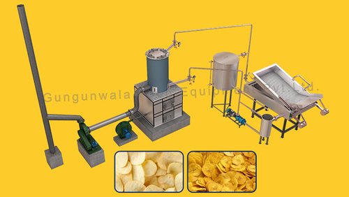 Batch Type Namkeen Fryer