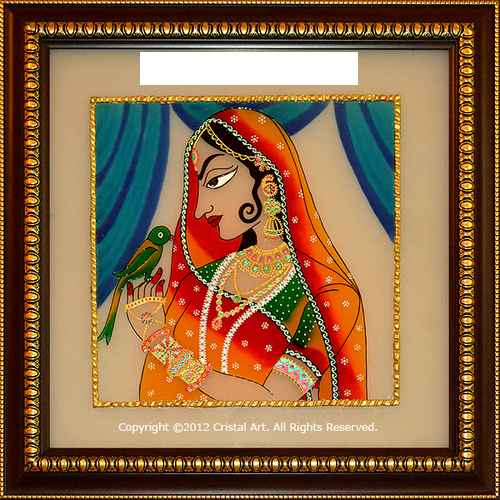 Pics for rajasthani glass paintings designs for Dijain photo