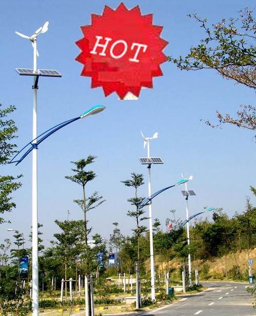 Wind-Solar Hybrid LED Street Light (JNWSL-002)