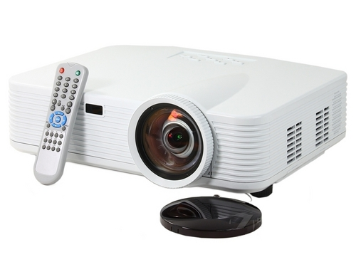 Full hd lcd projector native 1920x1080 pixels for home for Smallest full hd projector