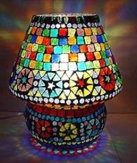 Beaded Glass Lamp
