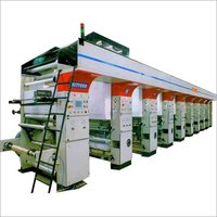 Multi Colour Rotogravure Printing Machine