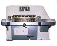 Fully Automatic Spring Loaded Type Paper Cutting Machine