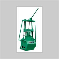 Manual Operated Concrete Block