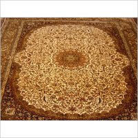 EMBROIDERED SILK CARPETS