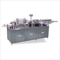 AUTOMATIC BOTTLE / JARS AIR JET & VACUUM CLEANING MACHINE