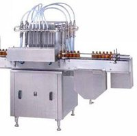 Automatic Volumetric Liquid Bottle Filling Machinery
