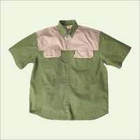 Green Colour Shirts