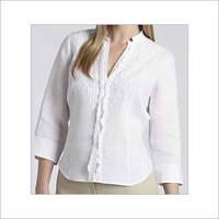 White Colour Ladies Blouse