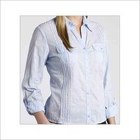 White Colour Ladies Shirts