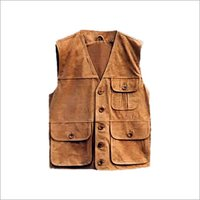 Leather Vest Coats