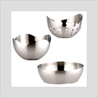 Stainless Steel Bread Baskets