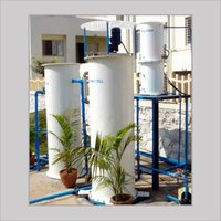 Electrolytic Sewage Water Treatment System