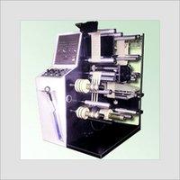 Label Inspection Cum Slitting & Rewinding Machine