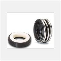 Single Coil Spring Elastomer Bellow