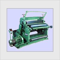 Vertical Type Single Face Paper Corrugating Machine