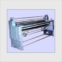 Sheet Pasting (4 Roller) Machine