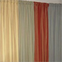Yarn Dyed Stripe Curtains