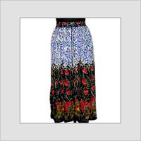 Long Printed Skirts