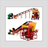 Stationery Type Conveyorised Semi-Automatic Block Making Machine