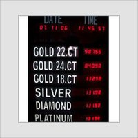 Bullion Rates Display Boards
