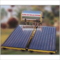DOUBLE PLATE SOLAR WATER HEATER